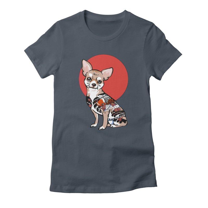 Yakuza Chihuahua Women's T-Shirt by huebucket's Artist Shop