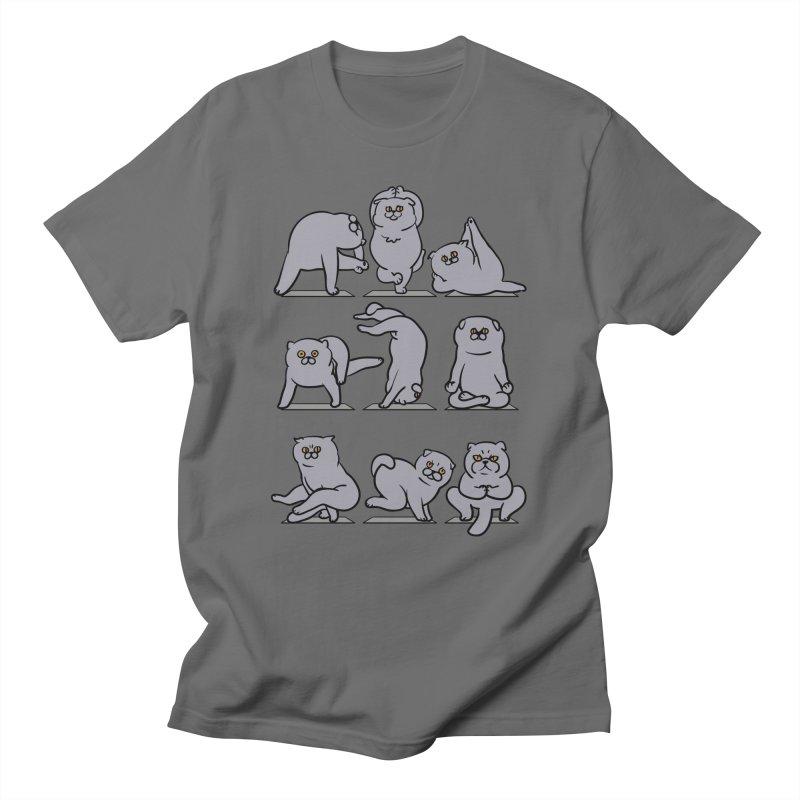 Scottish Fold Yoga Men's T-Shirt by huebucket's Artist Shop