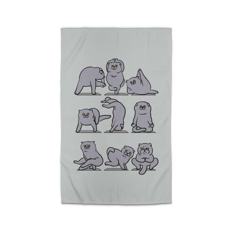 Scottish Fold Yoga Home Rug by huebucket's Artist Shop