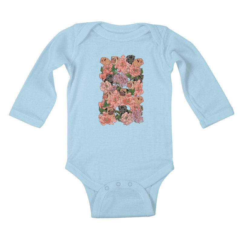 Just The Way You Are Kids Baby Longsleeve Bodysuit by huebucket's Artist Shop