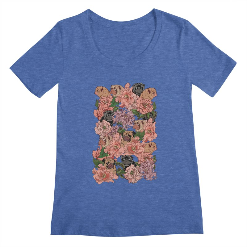 Just The Way You Are Women's Scoopneck by huebucket's Artist Shop