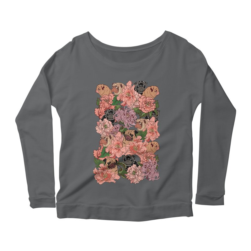 Just The Way You Are Women's Longsleeve Scoopneck  by huebucket's Artist Shop