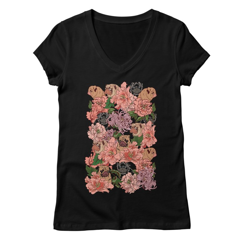 Just The Way You Are Women's V-Neck by huebucket's Artist Shop