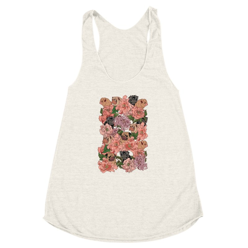 Just The Way You Are Women's Racerback Triblend Tank by huebucket's Artist Shop