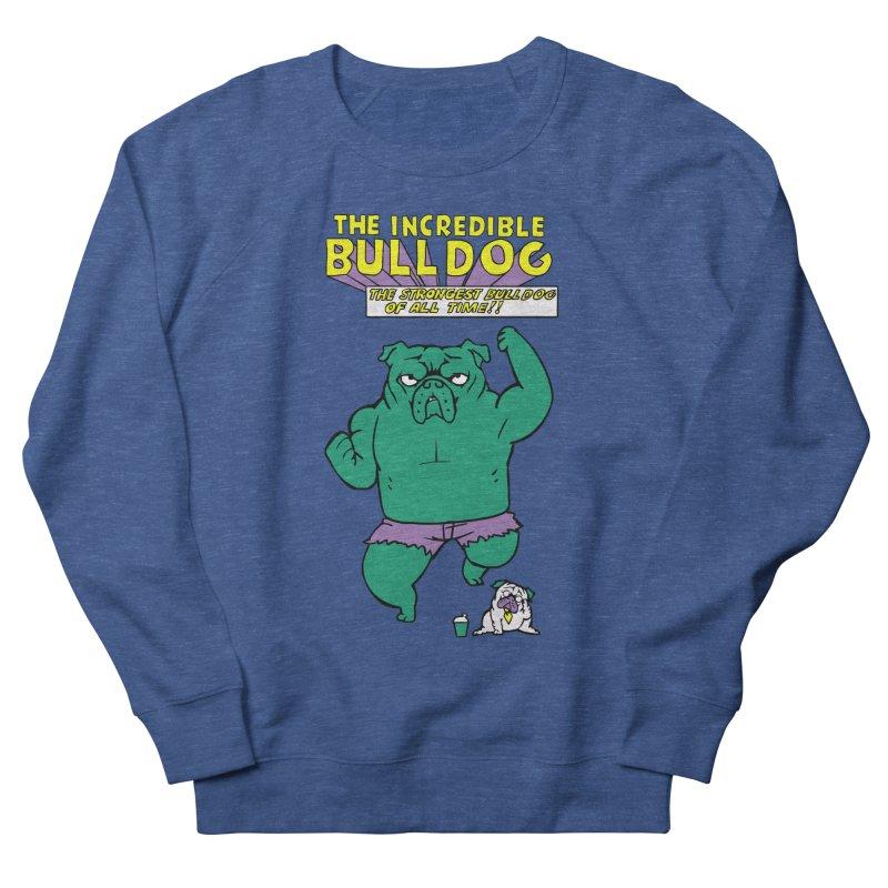 The Incredible English Bulldog Women's Sweatshirt by huebucket's Artist Shop