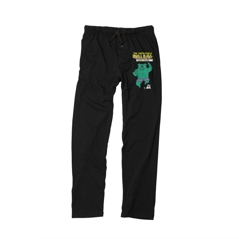 The Incredible English Bulldog Men's Lounge Pants by huebucket's Artist Shop