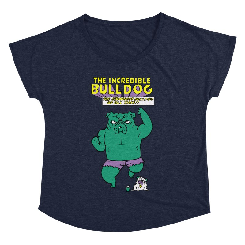 The Incredible English Bulldog   by huebucket's Artist Shop