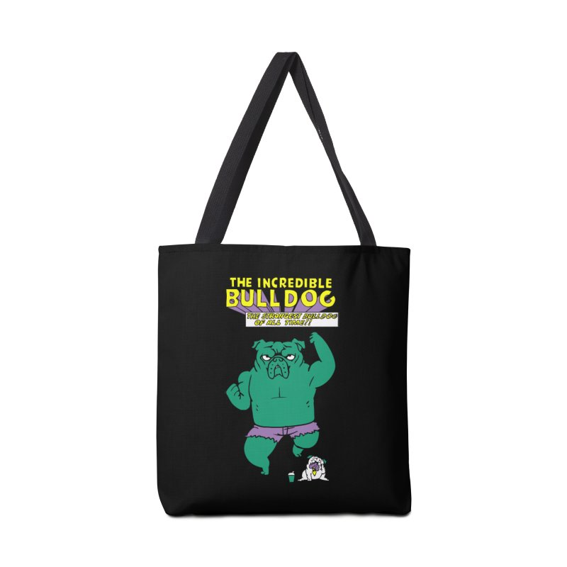The Incredible English Bulldog Accessories Bag by huebucket's Artist Shop