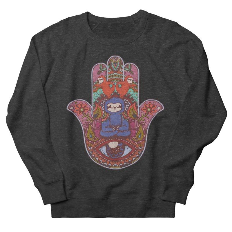Hamsa Sloth Women's Sweatshirt by huebucket's Artist Shop