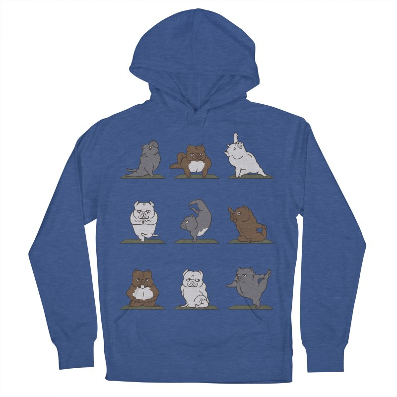 The American Bully Yoga Women's Pullover Hoody by huebucket's Artist Shop