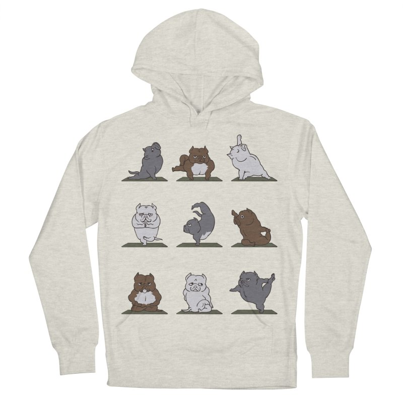 The American Bully Yoga Men's Pullover Hoody by huebucket's Artist Shop