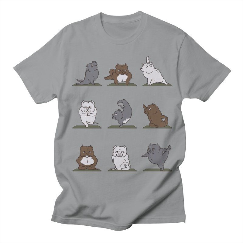 The American Bully Yoga Women's Unisex T-Shirt by huebucket's Artist Shop