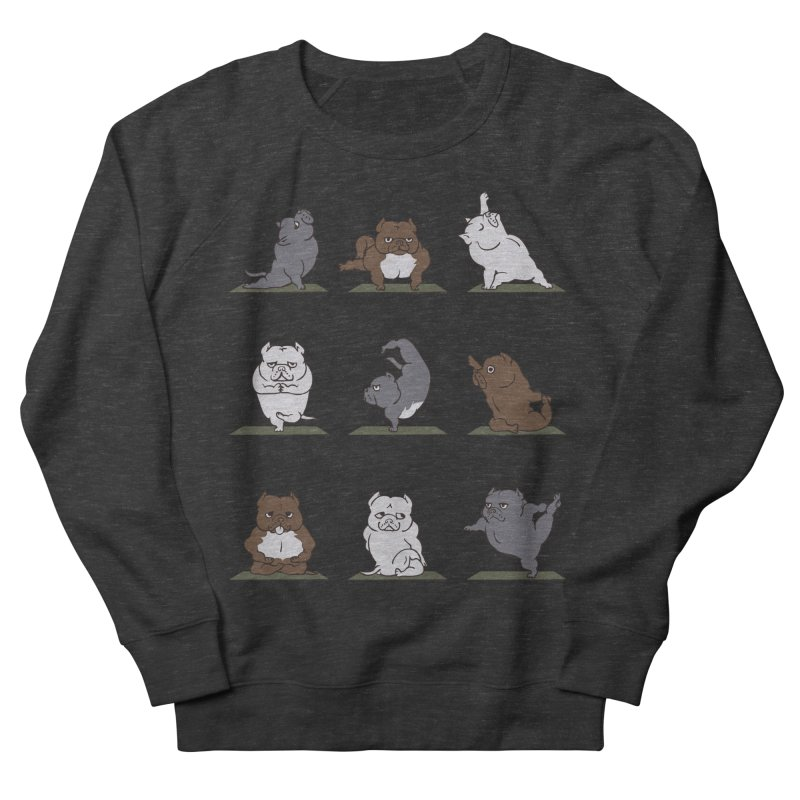 The American Bully Yoga Women's Sweatshirt by huebucket's Artist Shop