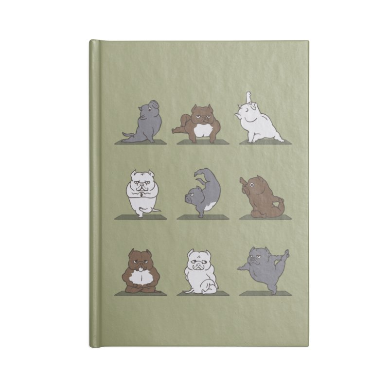 The American Bully Yoga Accessories Notebook by huebucket's Artist Shop