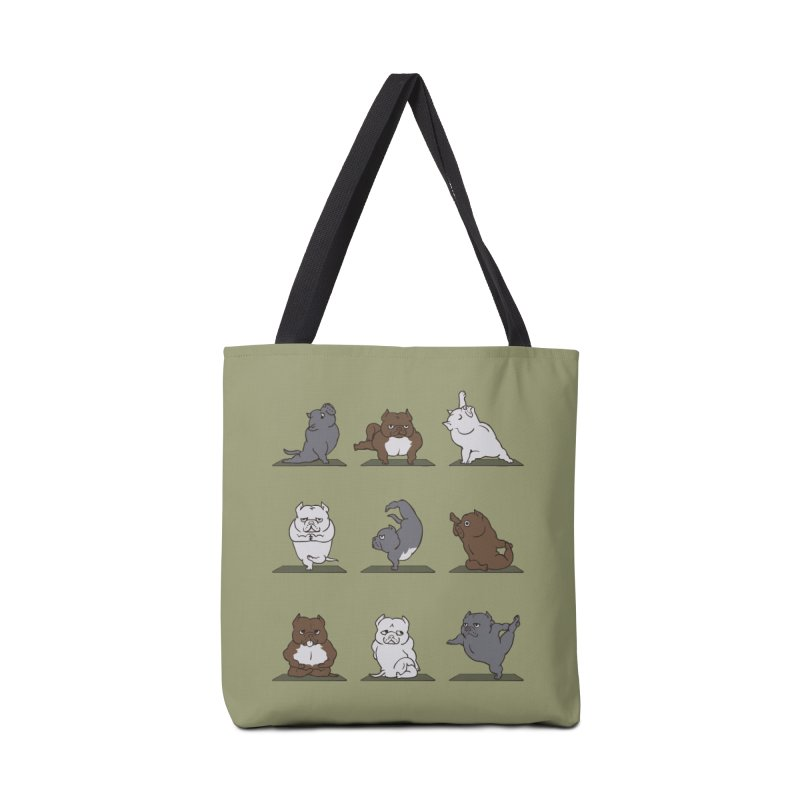 The American Bully Yoga Accessories Bag by huebucket's Artist Shop
