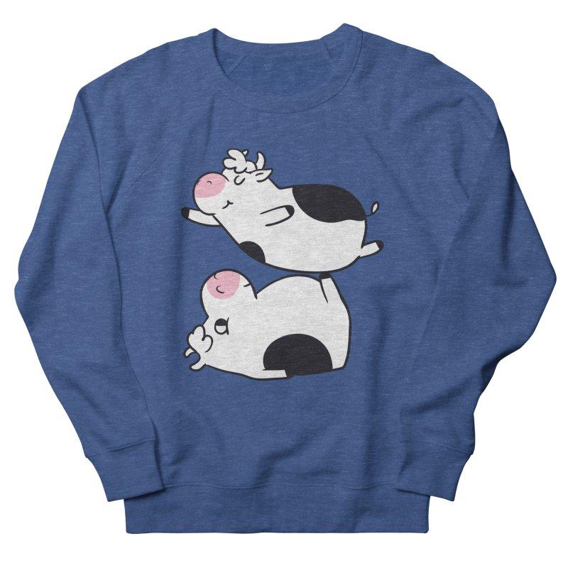 Acroyoga Cow Men's Sweatshirt by huebucket's Artist Shop