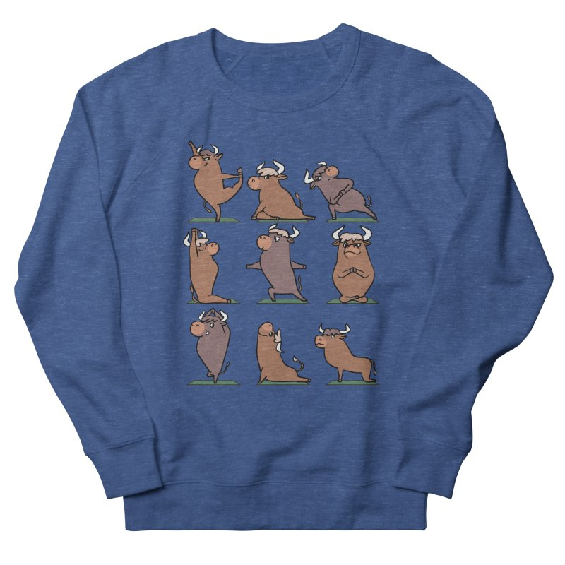 Ox Yoga Men's Sweatshirt by huebucket's Artist Shop
