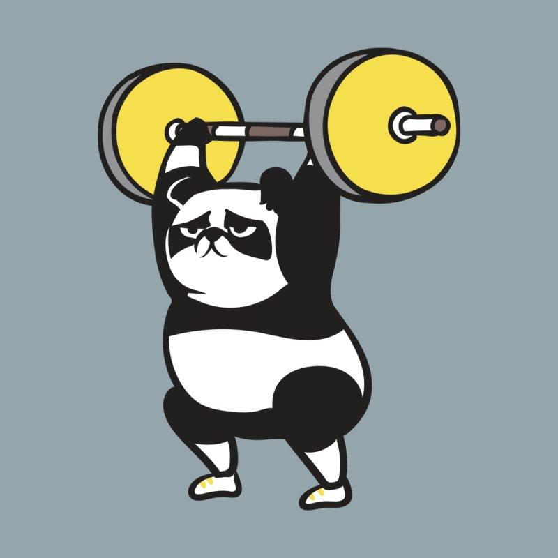 The snatch weightlifting Panda Women's T-Shirt by huebucket's Artist Shop