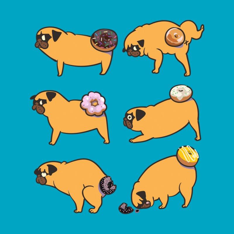 Pug Donuts Men's Tank by huebucket's Artist Shop