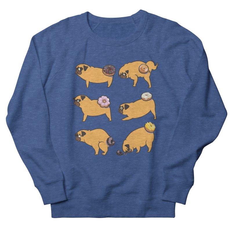 Pug Donuts Men's Sweatshirt by huebucket's Artist Shop