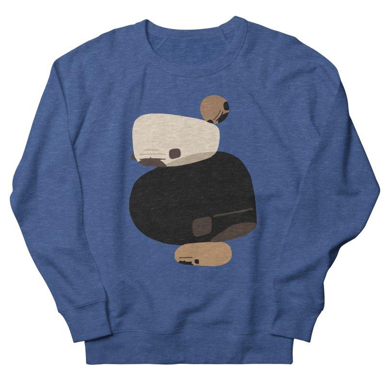Balance Rock Abstract Pug Men's Sweatshirt by huebucket's Artist Shop