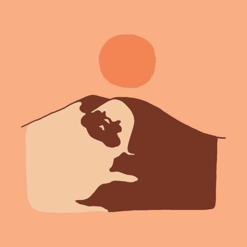 Abstract Desert Pug Accessories Beach Towel by huebucket's Artist Shop