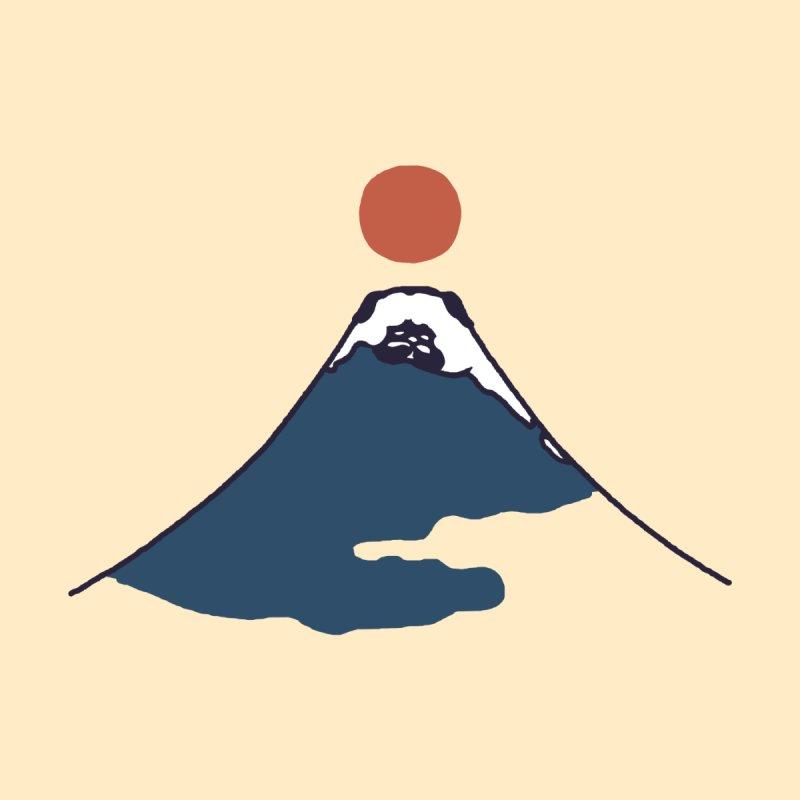 Abstract Mount Fuji Pug Men's Tank by huebucket's Artist Shop