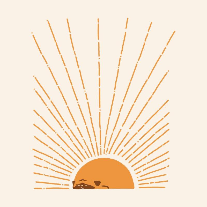 Abstract Sunrise Pug Men's T-Shirt by huebucket's Artist Shop