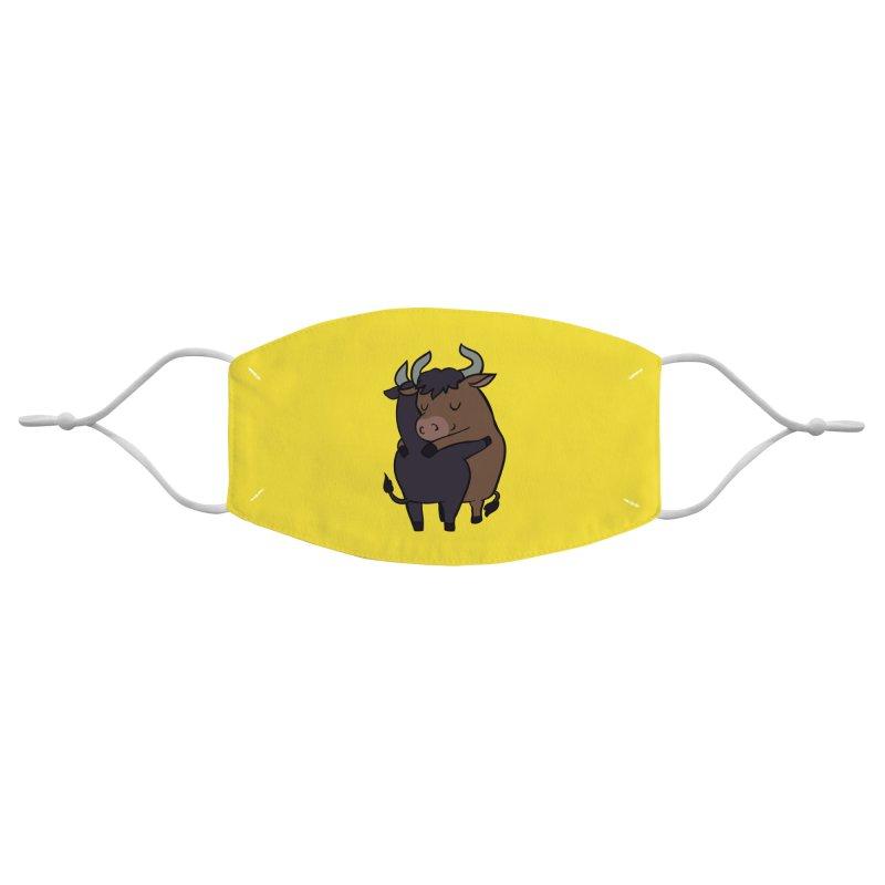 Ox Hugs Accessories Face Mask by huebucket's Artist Shop