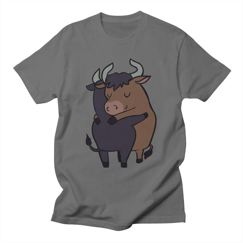 Ox Hugs Men's T-Shirt by huebucket's Artist Shop