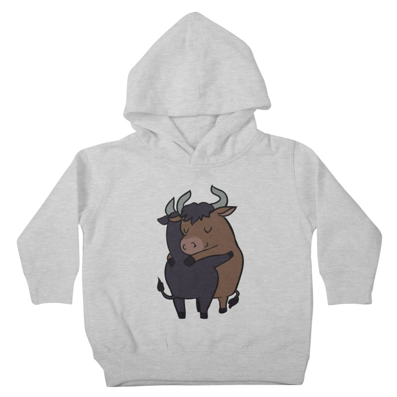 Ox Hugs Kids Toddler Pullover Hoody by huebucket's Artist Shop