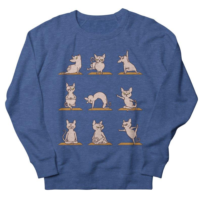 Sphynx Cat Yoga Women's Sweatshirt by huebucket's Artist Shop