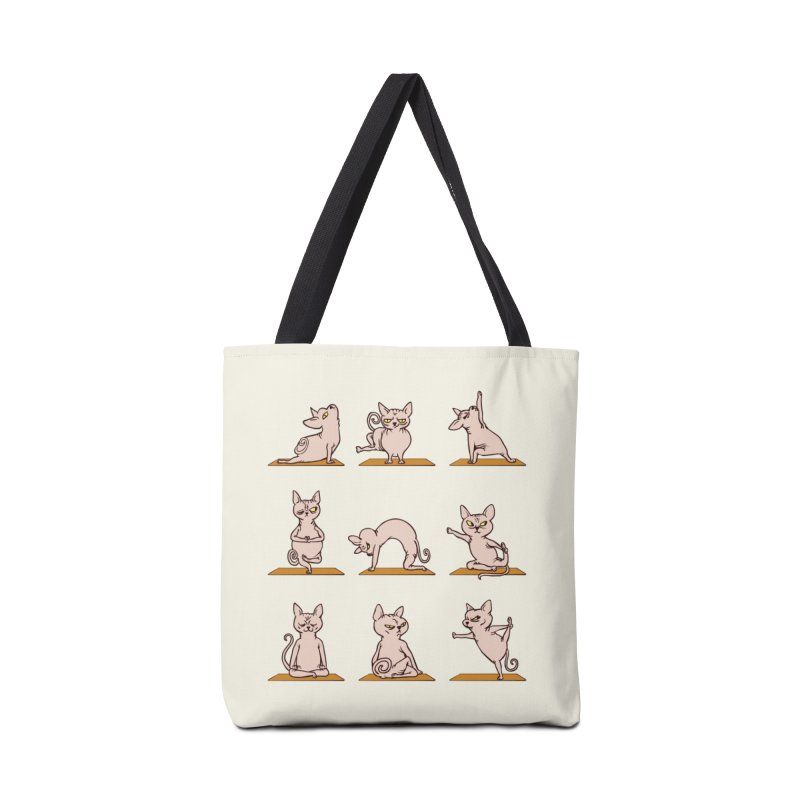Sphynx Cat Yoga Accessories Bag by huebucket's Artist Shop