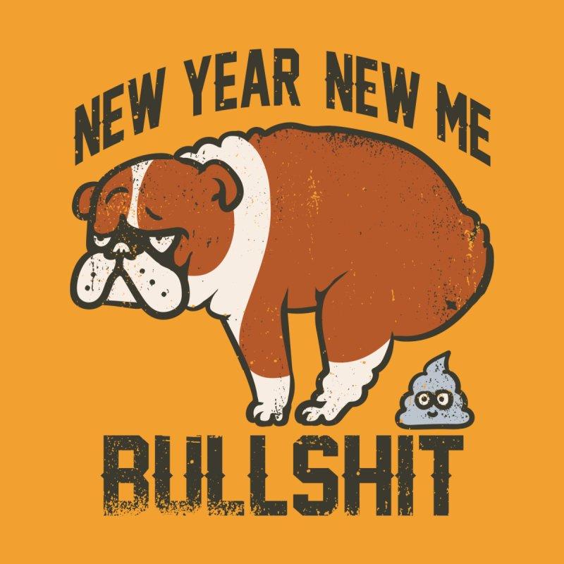 New Year New Me English Bulldog Men's T-Shirt by huebucket's Artist Shop