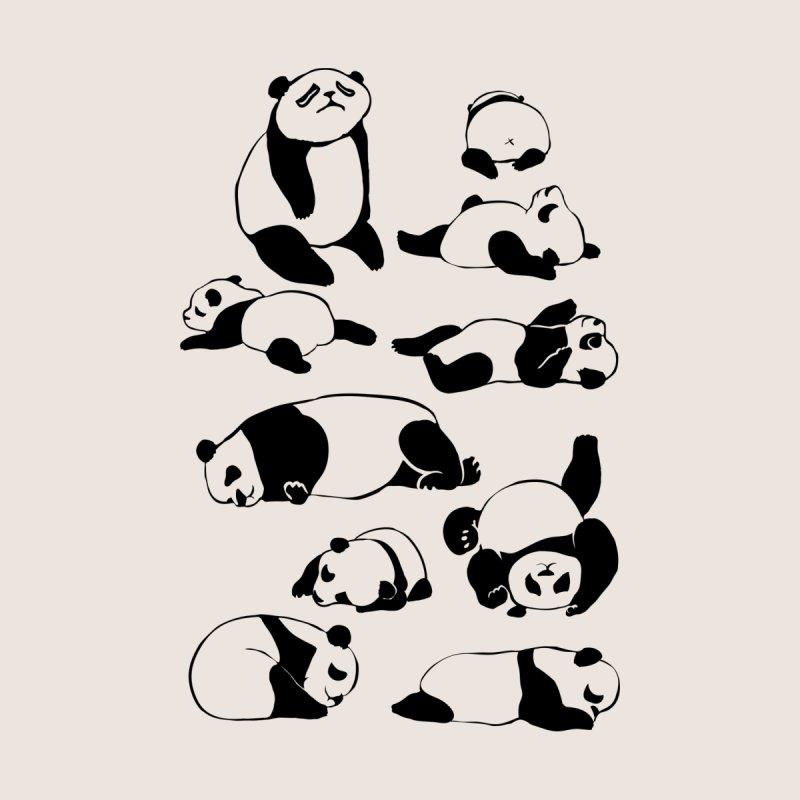 More Sleep Panda Men's T-Shirt by huebucket's Artist Shop