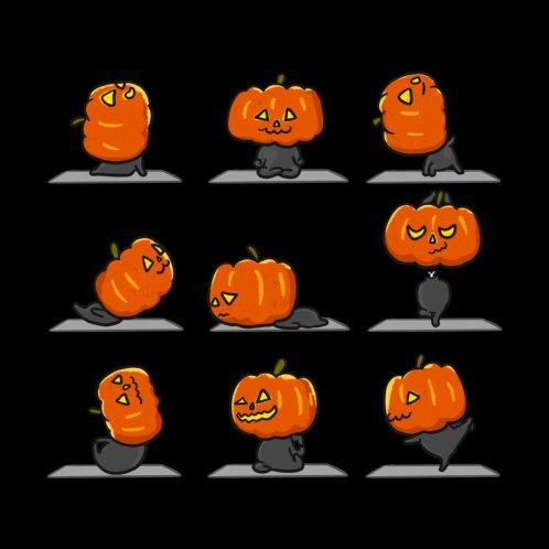 Design for Pumpkin Yoga Halloween