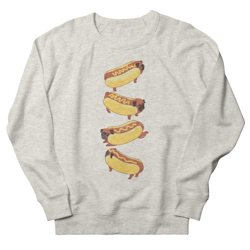 PUGS HOTDOG Men's Sweatshirt by huebucket's Artist Shop