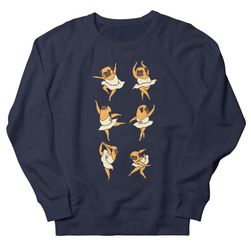 Ballet Pug Men's Sweatshirt by huebucket's Artist Shop