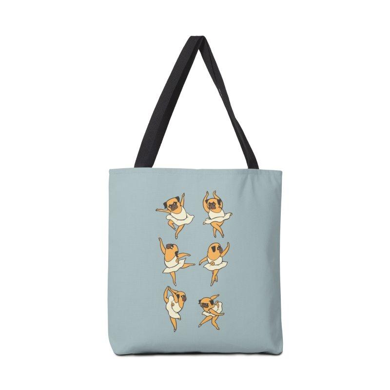 Ballet Pug Accessories Bag by huebucket's Artist Shop