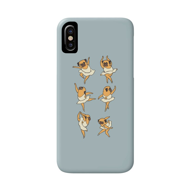Ballet Pug Accessories Phone Case by huebucket's Artist Shop