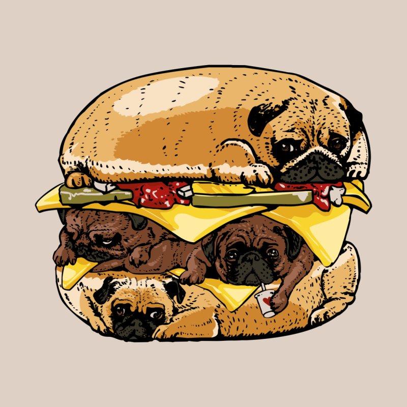 Pugs Burger Men's Cut & Sew by huebucket's Artist Shop
