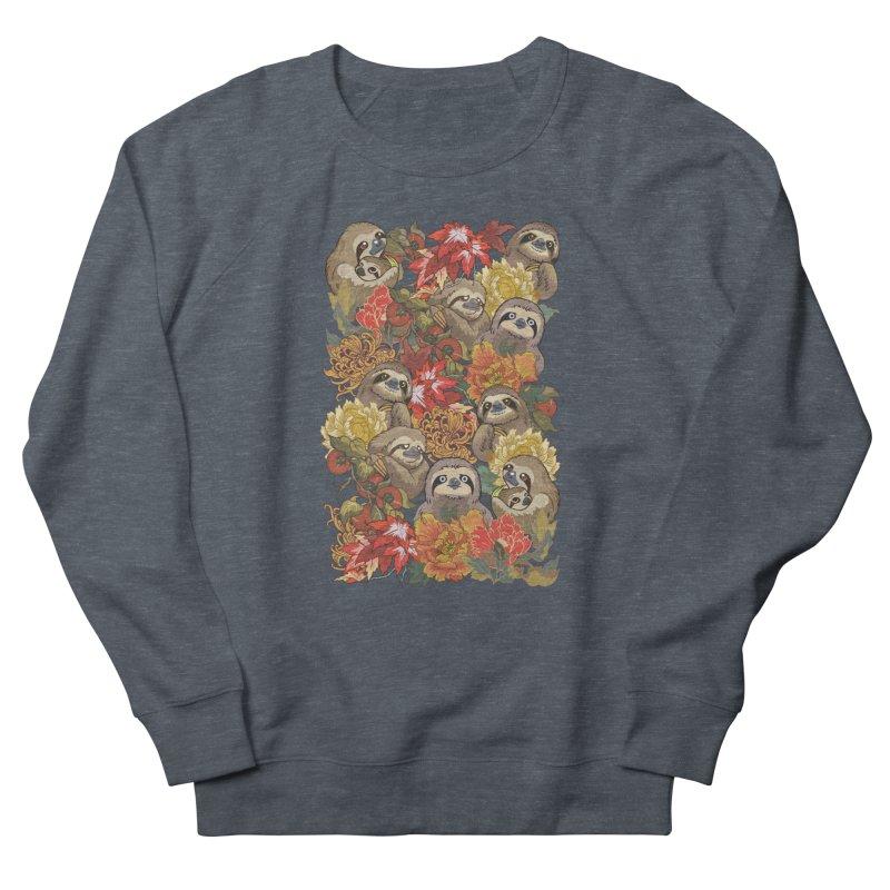 Because Sloths Autumn Men's Sweatshirt by huebucket's Artist Shop