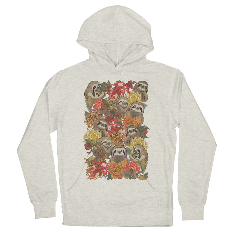 Because Sloths Autumn Women's Pullover Hoody by huebucket's Artist Shop