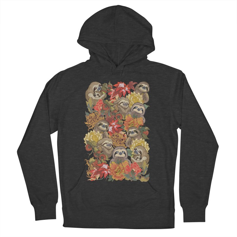 Because Sloths Autumn Men's Pullover Hoody by huebucket's Artist Shop