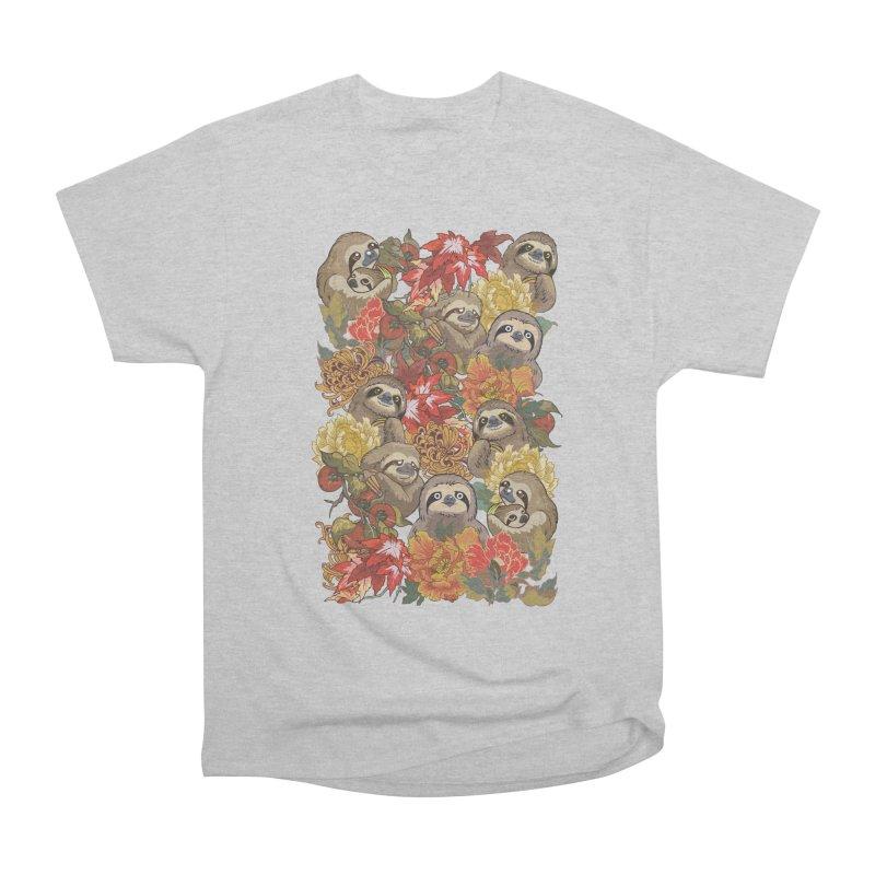 Because Sloths Autumn Women's Classic Unisex T-Shirt by huebucket's Artist Shop