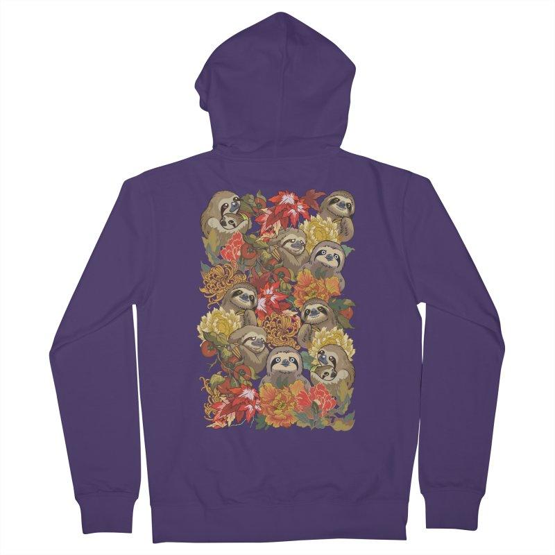 Because Sloths Autumn Women's Zip-Up Hoody by huebucket's Artist Shop