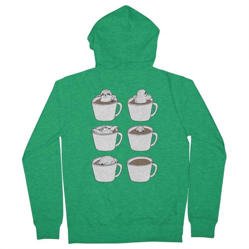 More Coffee Women's Zip-Up Hoody by huebucket's Artist Shop