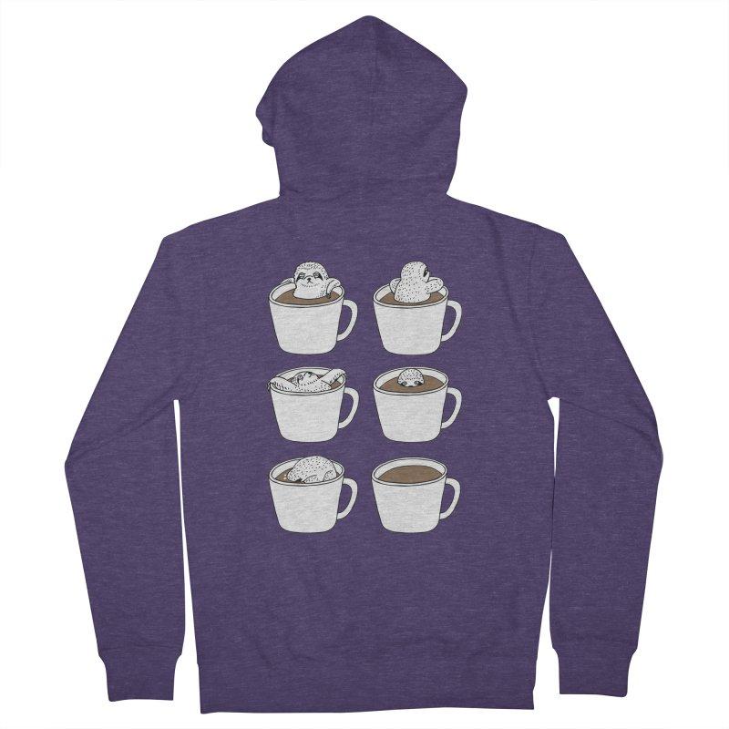 More Coffee Men's Zip-Up Hoody by huebucket's Artist Shop