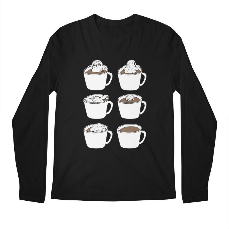 More Coffee Men's Longsleeve T-Shirt by huebucket's Artist Shop