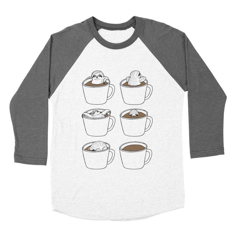 More Coffee Women's Baseball Triblend T-Shirt by huebucket's Artist Shop